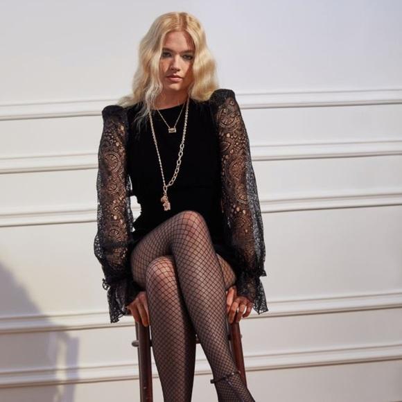 Vampire's Wife Velvet Mini Dress